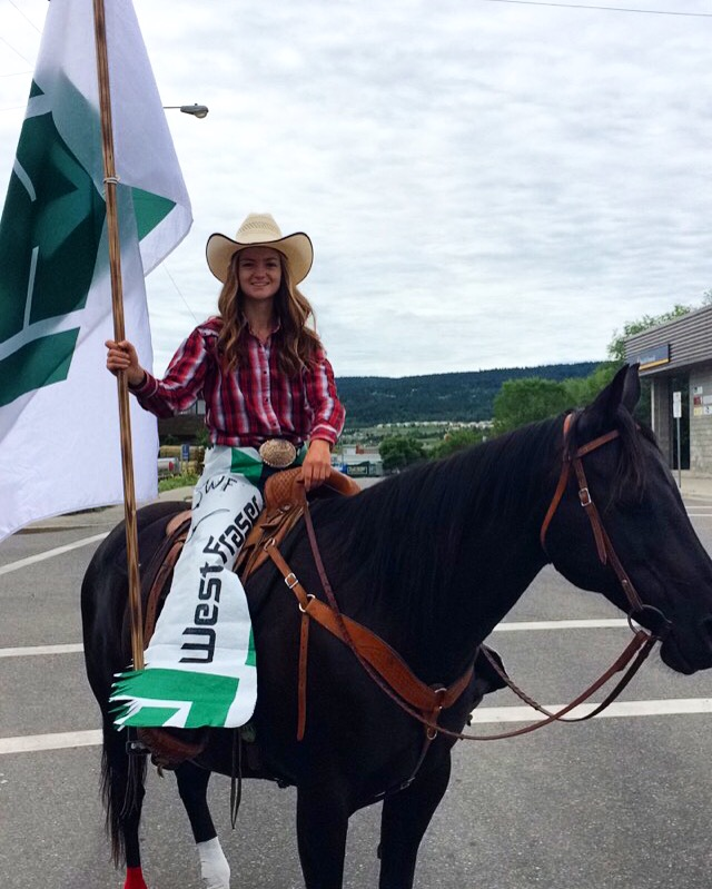 Credit: Danny Lussier. Nahoni and I before the parade. I want to say a HUGE thank you to my generous Aunt, Mary, for lending me this handsome gentleman for the day. He sure impressed the crowds and my co-workers!
