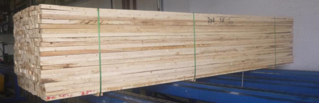 bois 2x4 de 14 pieds