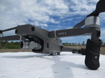 drone close up