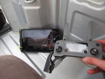 drone screen
